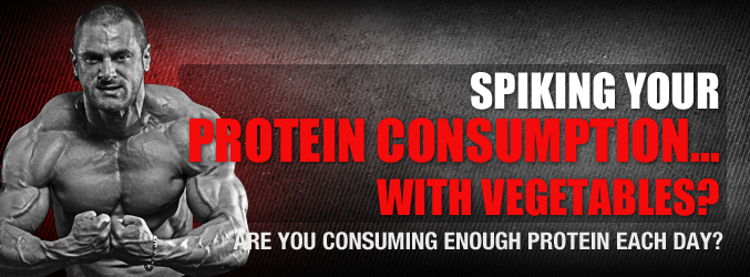 Spiking Your Protein Consumption… With Vegetables?