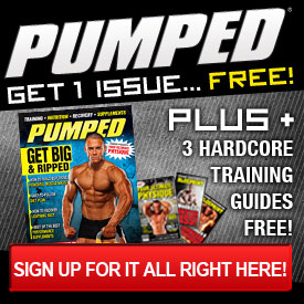 PUMPED Magazine Free Issue